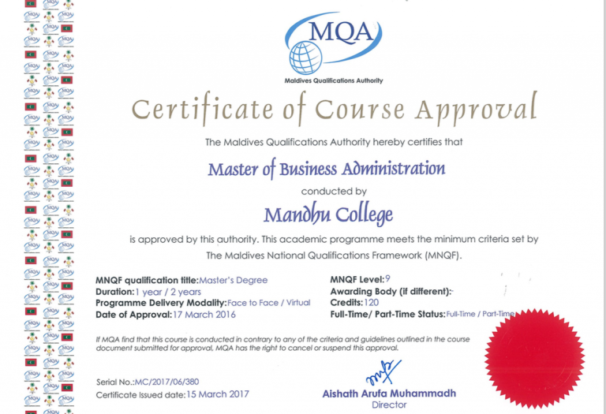 Business Administration Degree >> Master Of Business Administration Mandhu College
